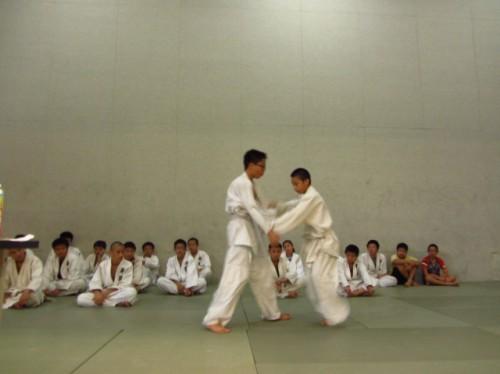 20141230柔道隊訓練照片