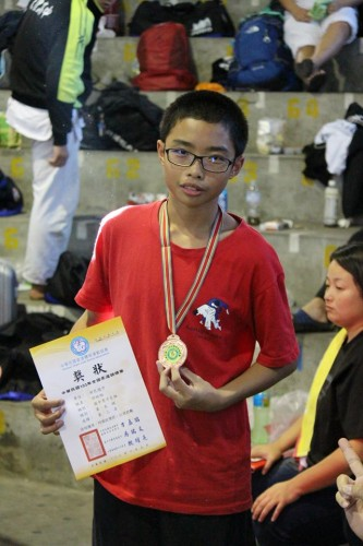 全國柔道錦標賽男子組得獎