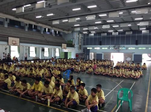 105學年第一學期開學獻獎日